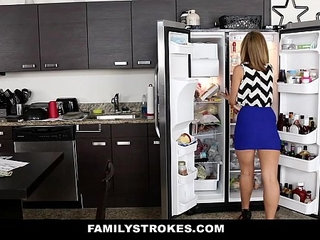 FamilyStrokes Cute amateur Blonde Fucked by Step Brother   blondecutestepbrother