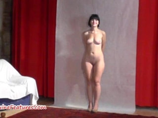 19yo cutie shows her body at her first erotic CASTING   19 years oldcastingcuteeroticafirst time