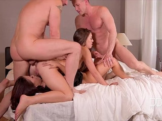 Ddf network bros fuck a couple of super sexy hoes | couplesexy