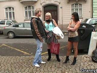 Granny prostitute pleases young stud   grannyprostituteyoung