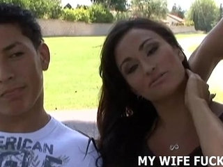 Watch your wife get banged by a total stranger | bangedstrangerwatchingwife