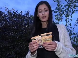 Public Agent Coco Kiss Fix My Car and Fuck My Pussy | agentcarkissingpublicpussy