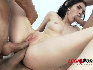 Crazy sexy Crystal Greenvelle anal pleasure, gaping and DAP | analcrazygapingpleasuresexy