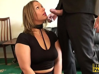 Curvy Britt roughly fucked drenched in spit | curvyroughspitting