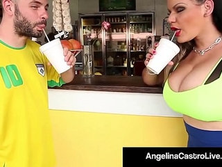 Cuban bbw angelina castro takes a hungry cock in her pussy   bbwcockhungrypussy