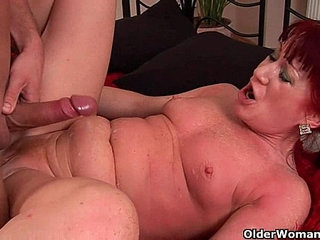 Red hot granny with small tits rides cock | cockgrannyridingsmall tits